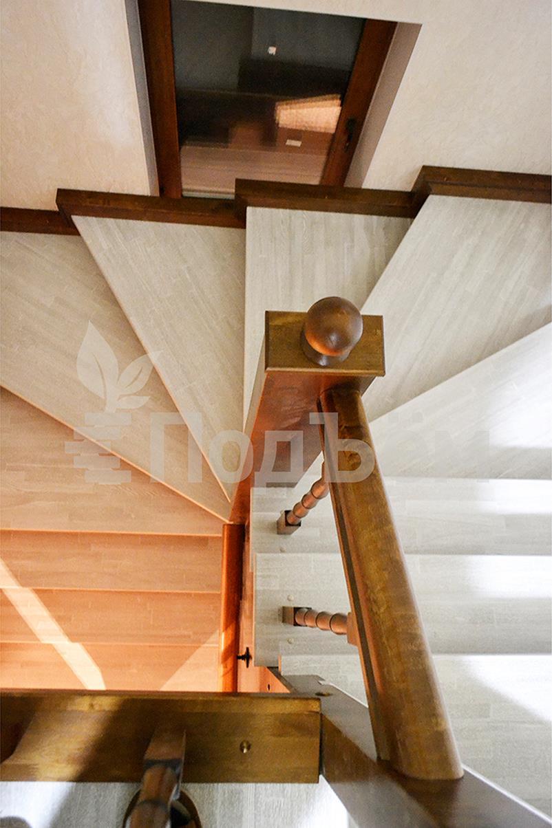 Лестница из п-образного своими руками