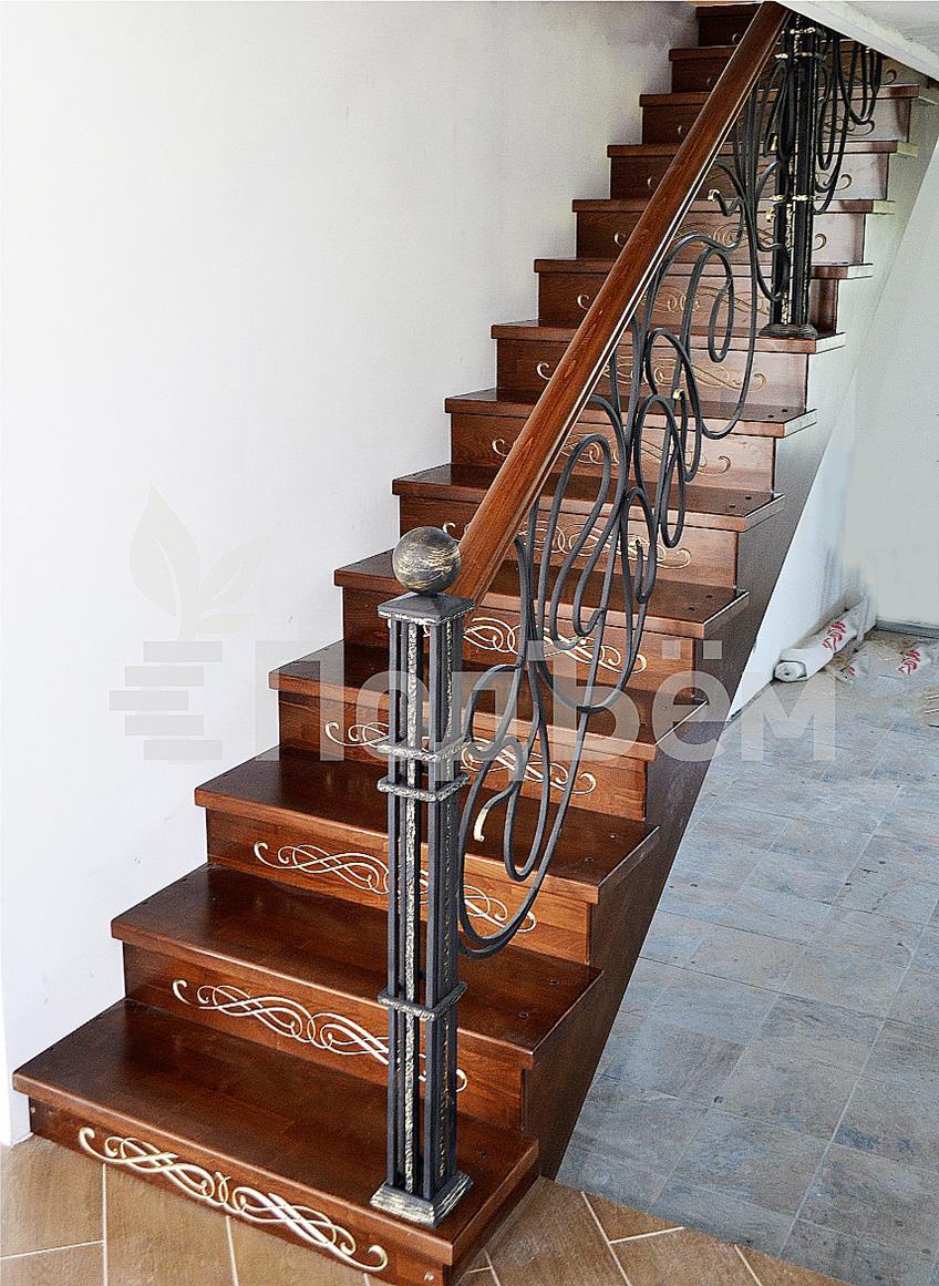 Одномаршевую лестницу сделать 2