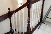 П-образная лестница на тетивах